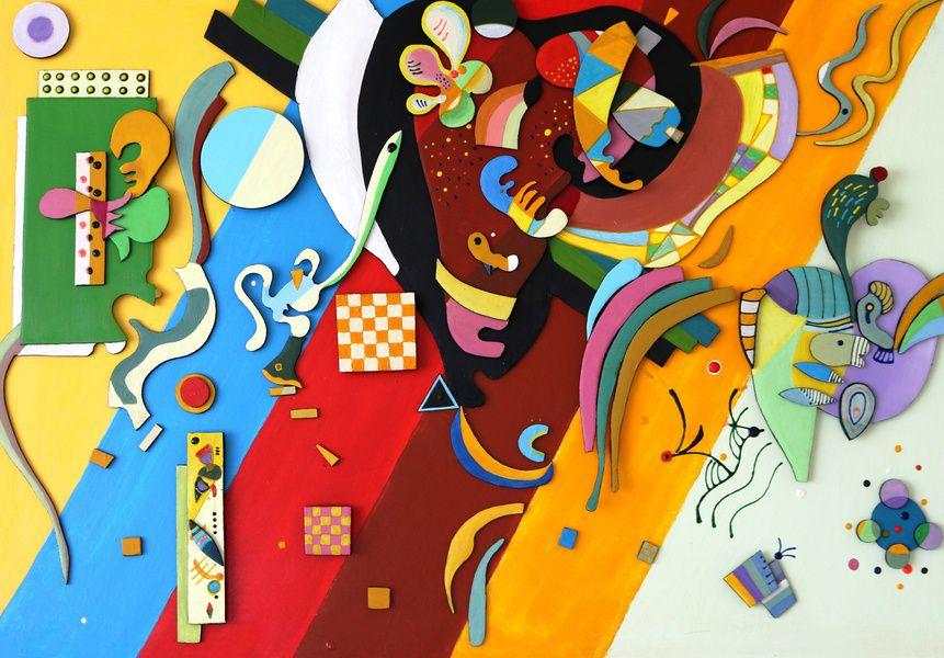 Выставка «Трансформация Кандинского»