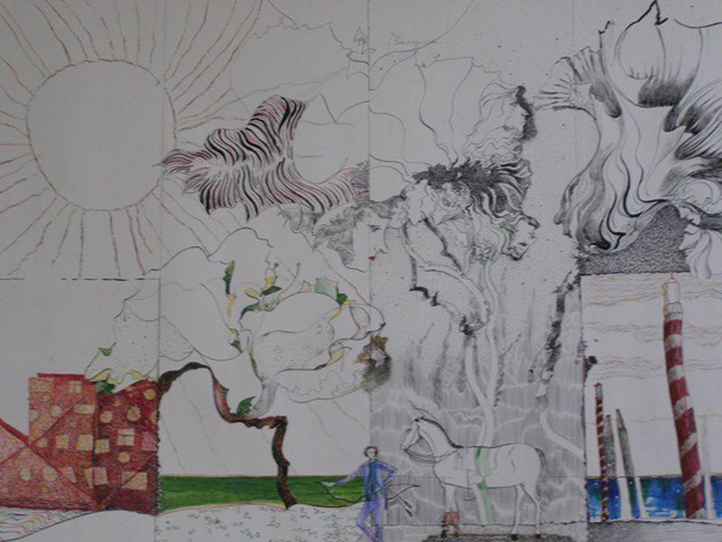 Выставка графики «Душа держала эту память…»