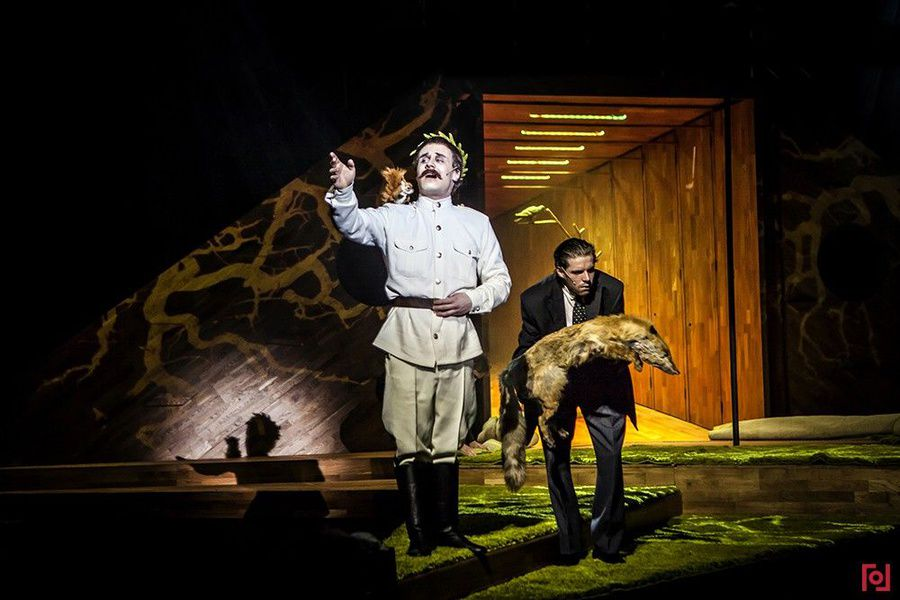 Спектакль «Пастернак. Сестра моя — жизнь» в «Гоголь-центре»