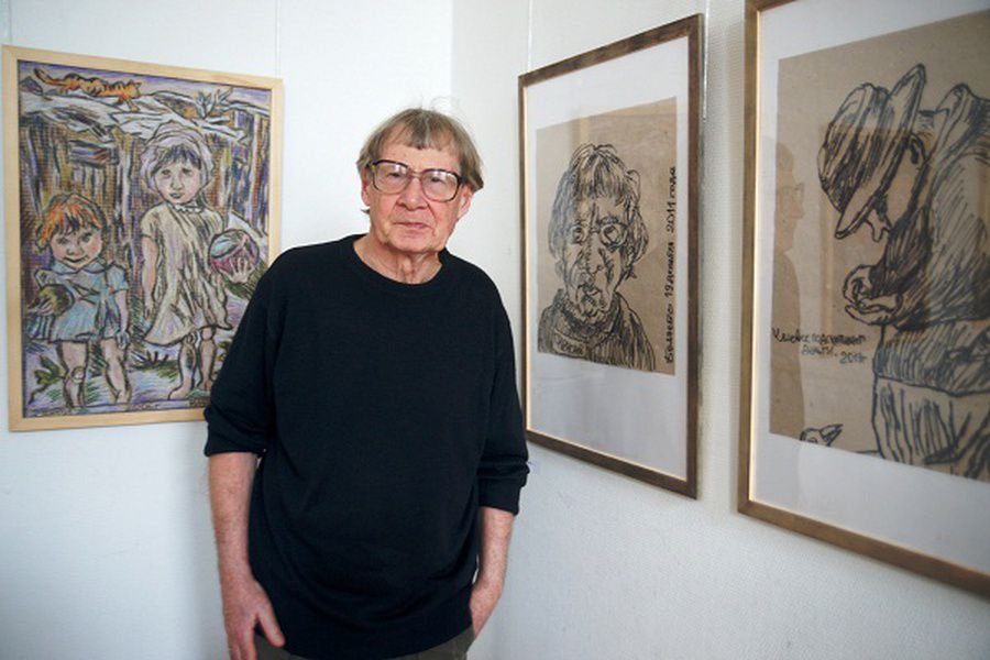 Выставка Кирилла Мамонова «Автопортрет»