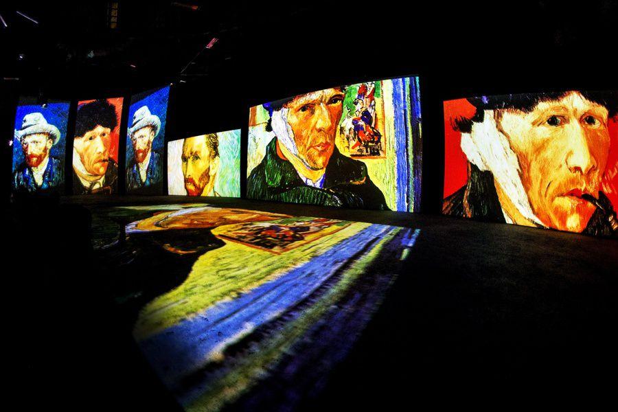 Мультимедийная выставка «Ван Гог — Живые полотна»