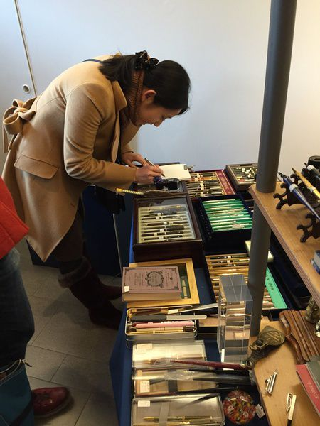 Выставка Moscow Pen Show