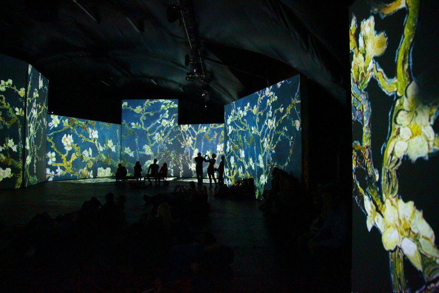 Новый год на выставке «Ван Гог. Ожившие полотна 2.0»