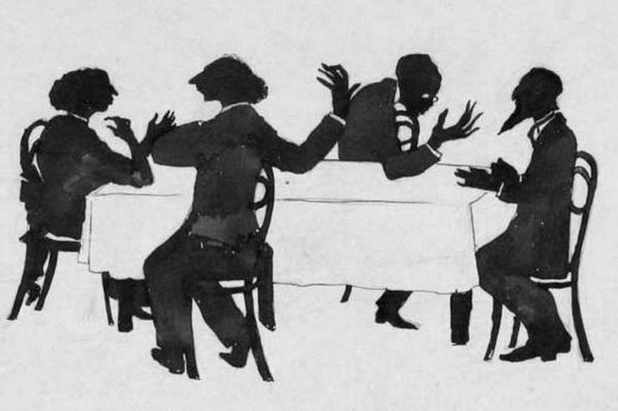 Выставка «Андрей Белый и кадетская общественность. Фёдор Головин, Фёдор Кокошкин, Георгий Львов»