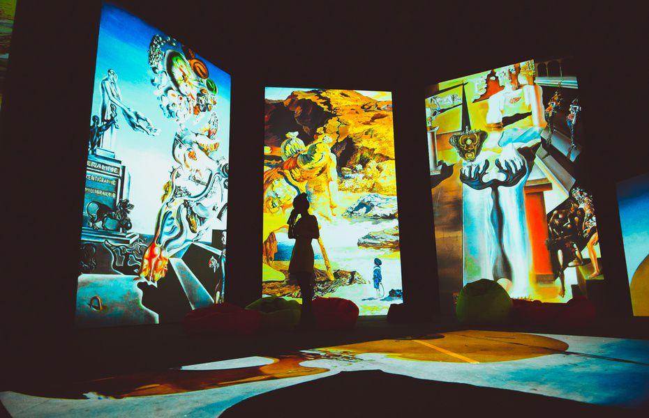 Мультимедийная выставка «Дали — Живые полотна»