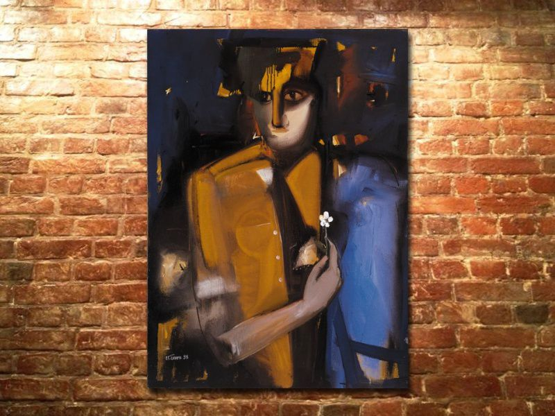 Выставка живописи Олега Щербатых, Суро, Валерия Миронова и Александра Паламарчука «Зимняя прелесть»