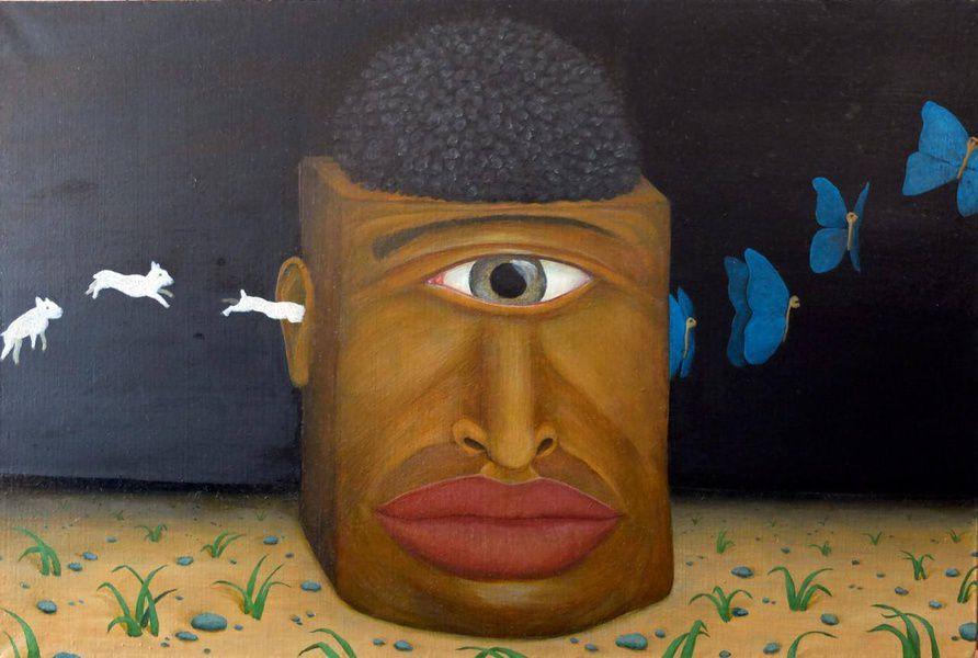 Выставка современного искусства в темноте ART.WHO.DARK