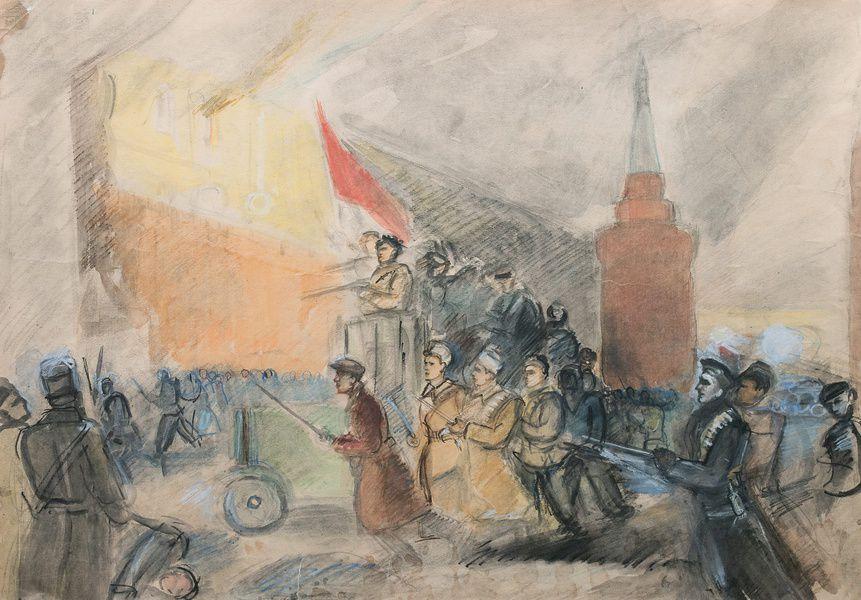 Выставка Александра Лабаса «Октябрь»