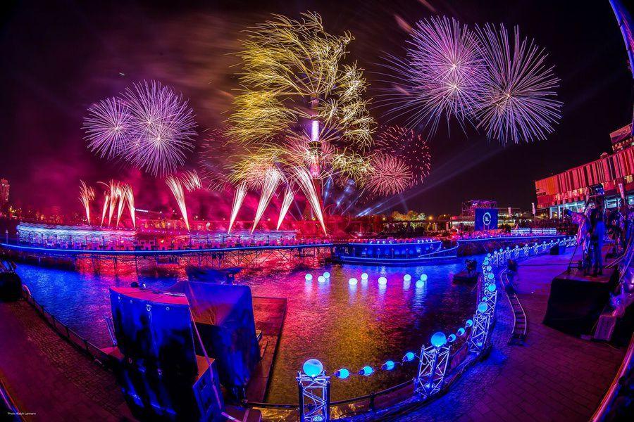 Новогодний фестиваль «Круг света»