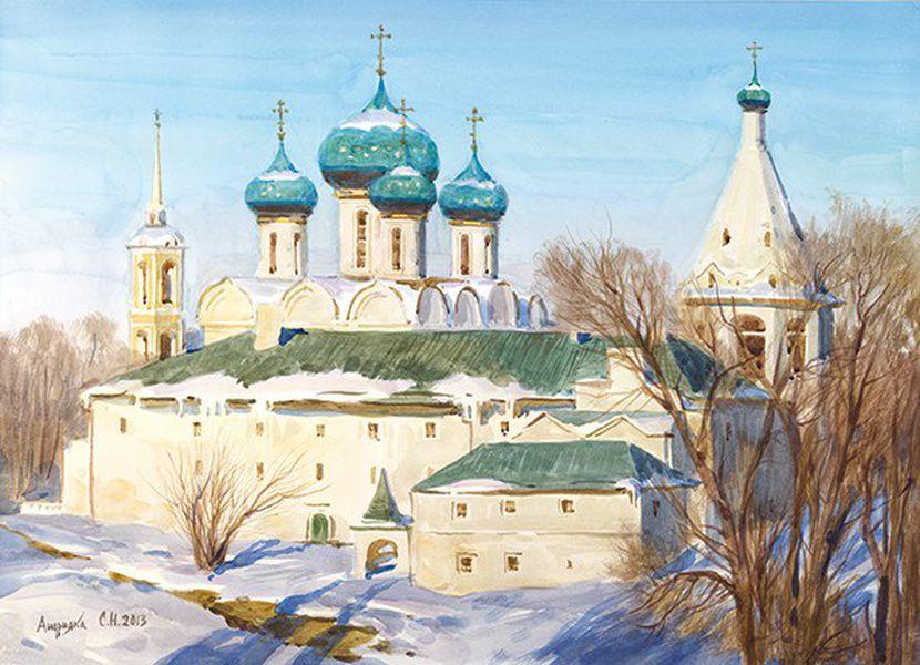 Выставка «Святые места православия»