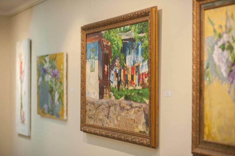 Выставка «Система напряжения линий или свидетельство абстрактного»