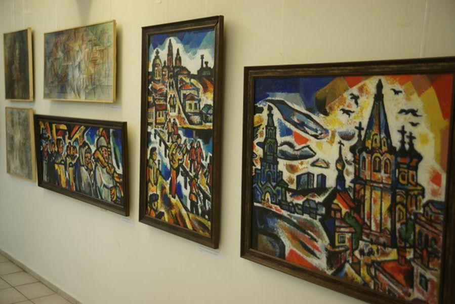 Выставка произведений Виктории Шумилиной