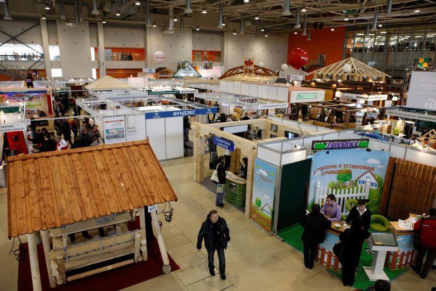 Выставка «Деревянное домостроение»/Holzhaus