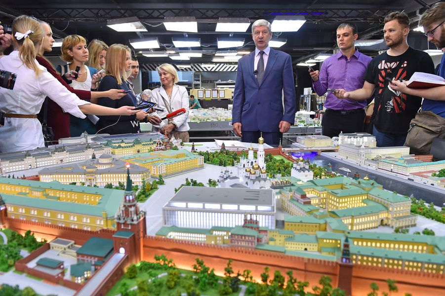 Экспозиция «Москва в миниатюре»