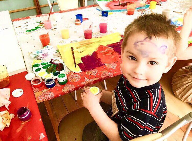 Благотворительная выставка детских рисунков «Моя мечта» в арт-галерее Mazel Tov Studio