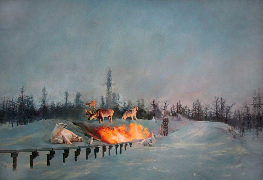 Выставка «Красные ворота / Против течения»