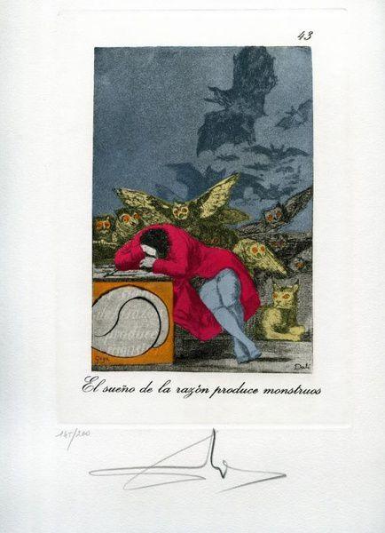 """Выставка «""""Капричос"""". Гойя и Дали»"""