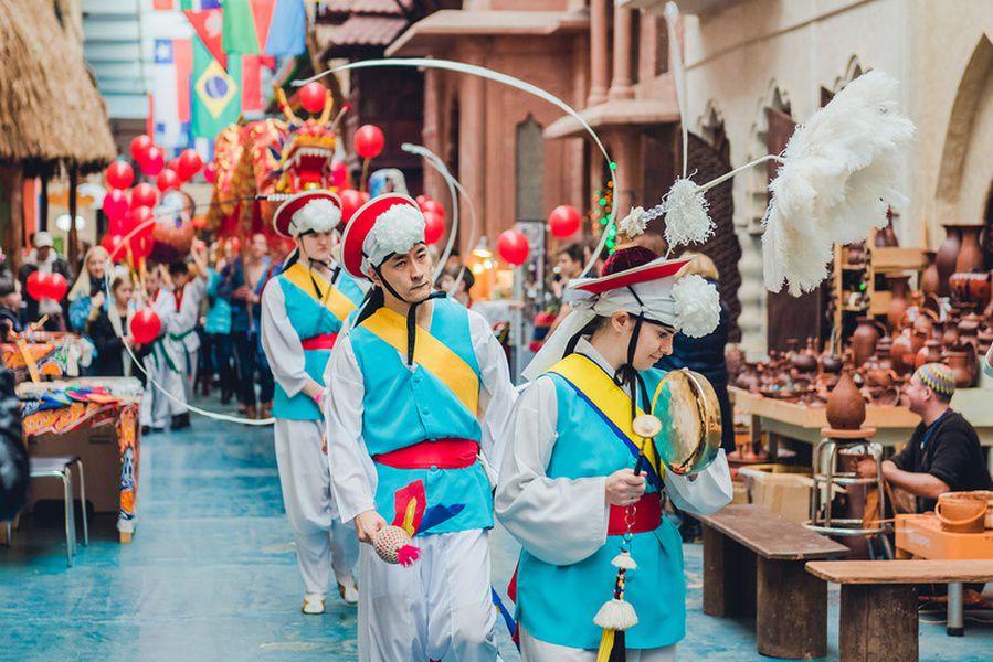 Фестиваль боевых искусств в «ЭТНОМИРе»