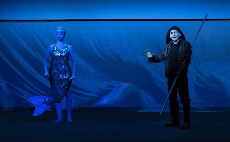 Спектакль «Сказки Пушкина» в Театре Наций