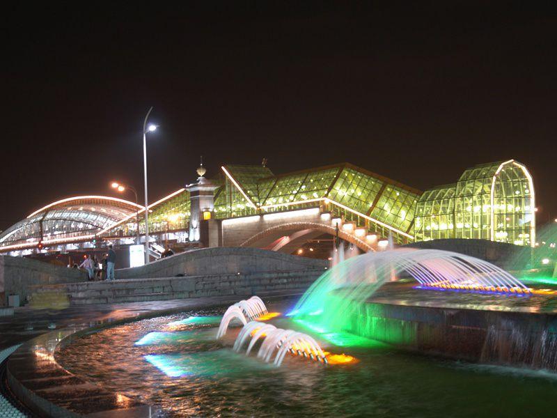 Автобусная экскурсия «Огни ночной Москвы»