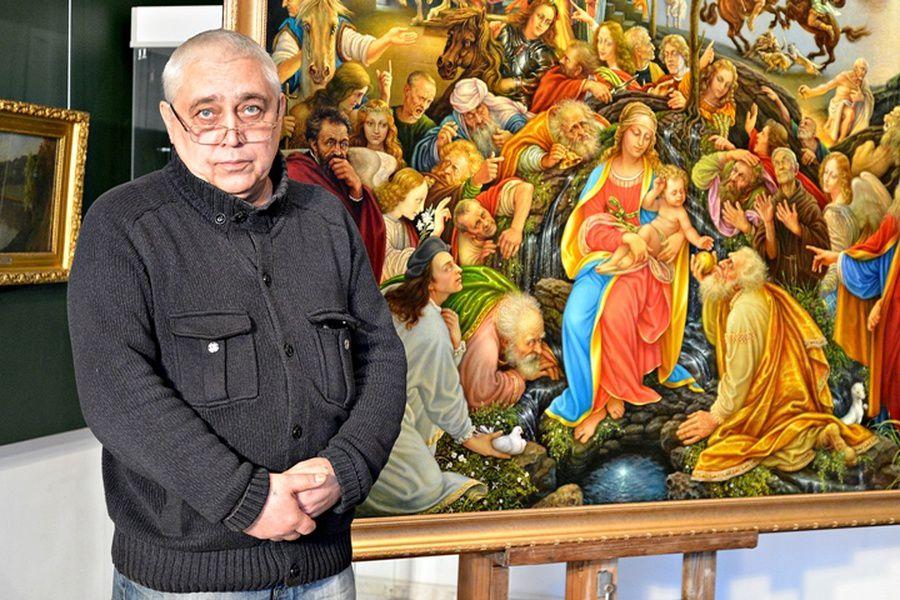 Выставка Константина Дверина «Посвящение Италии»