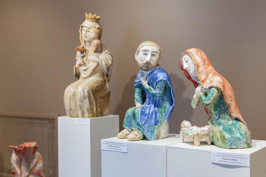 Выставка произведений Валентины Кузнецовой
