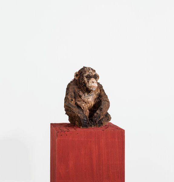 Выставка «Стефан Балкенхол. Скульптуры и рельефы»