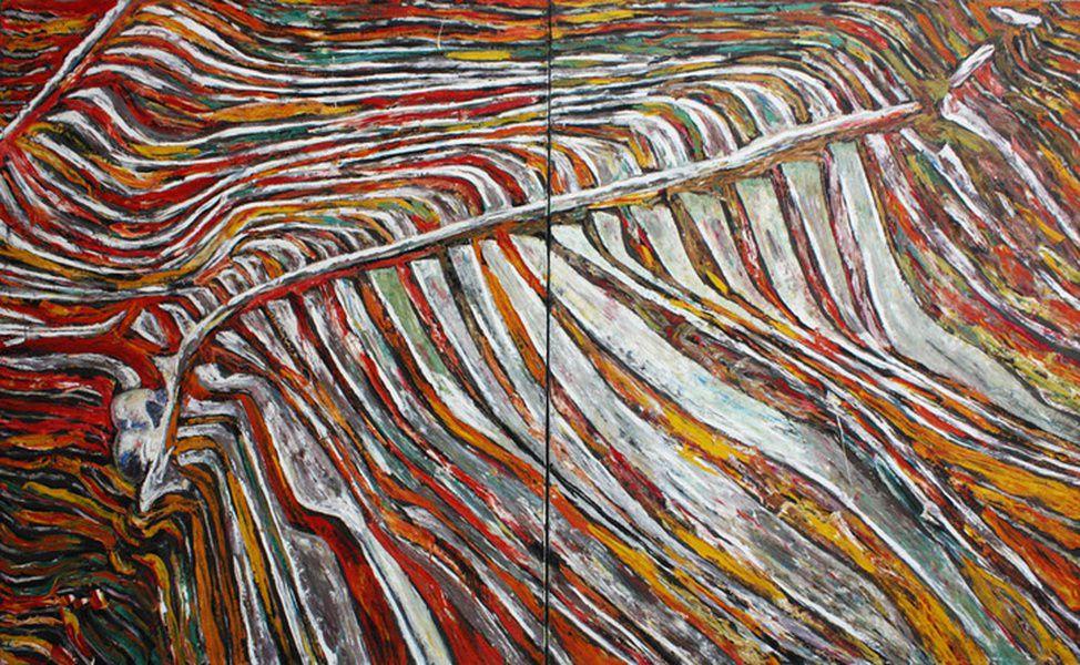 Выставка Василия Бажая Untitled