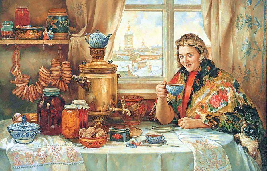 Выставка «Очарование России»