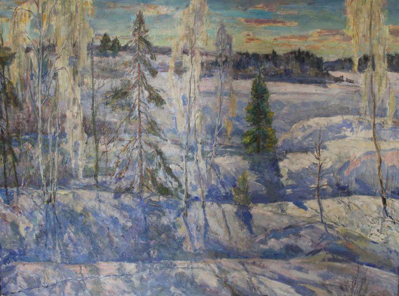 Выставка произведений Виталия Орловского
