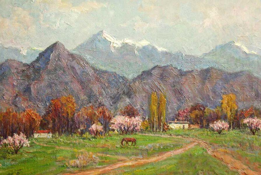 Выставка произведений Сабиджана Бабаджанова