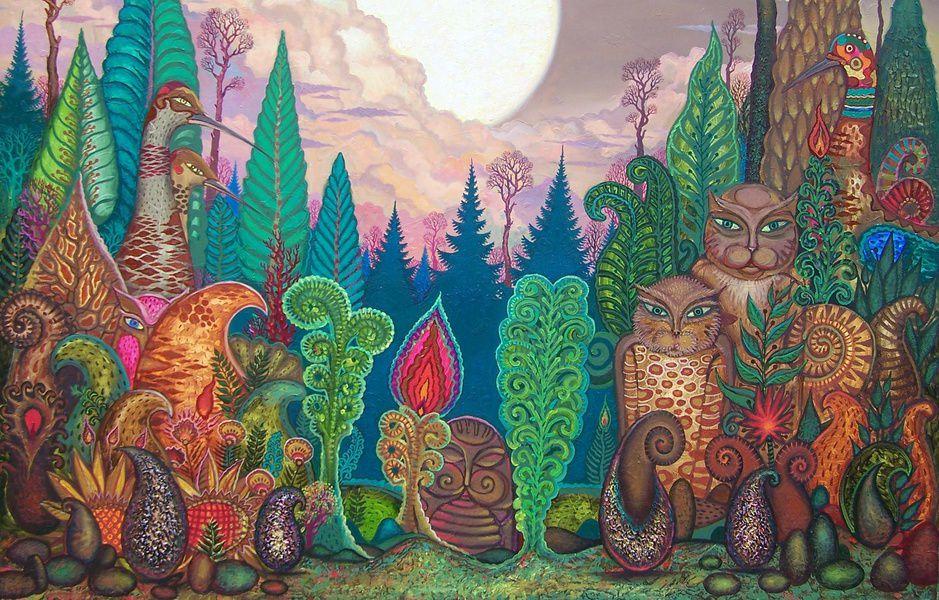 Выставка живописи Юрия Дырина