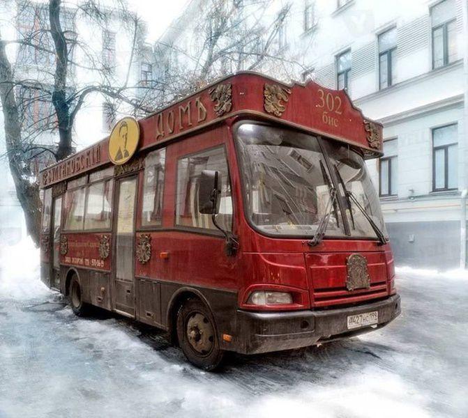 Экскурсия на трамвае «302-БИС» по булгаковской Москве