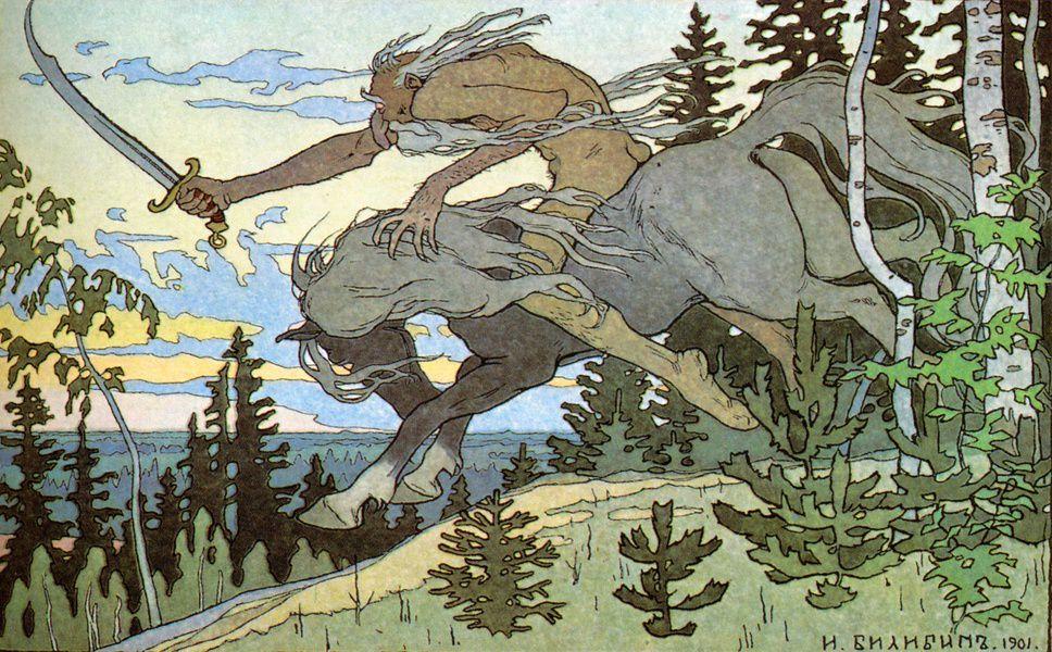 Выставка «Иван Билибин. Процветшее древо»