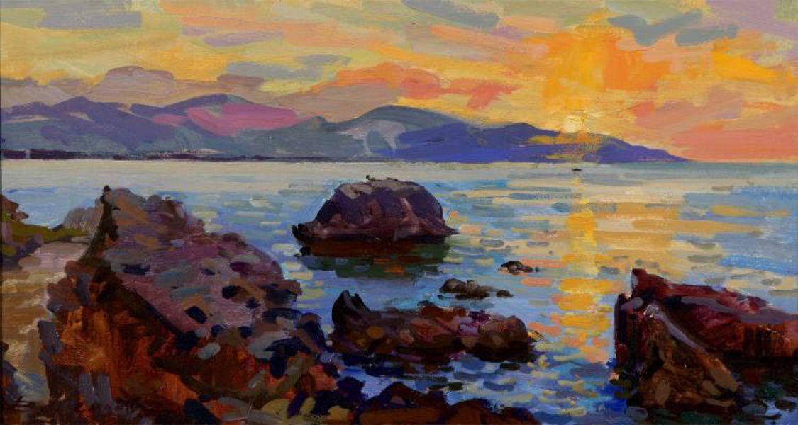 Выставка живописи Владимира Валенцова
