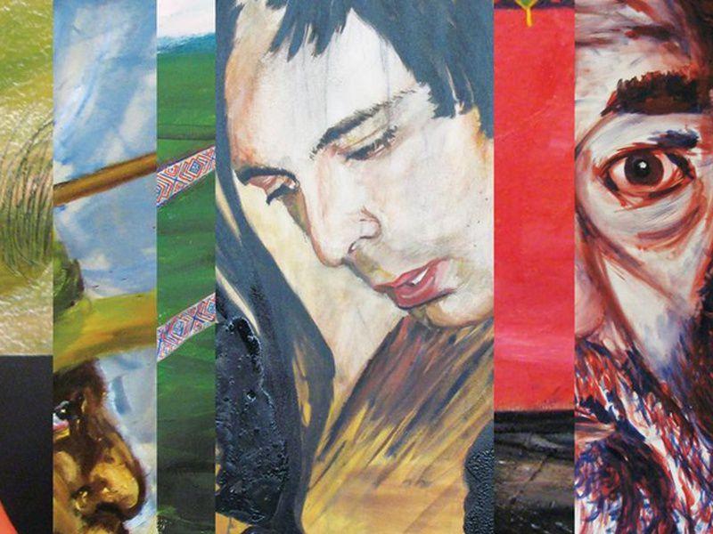 Выставка «Портреты и полосы»
