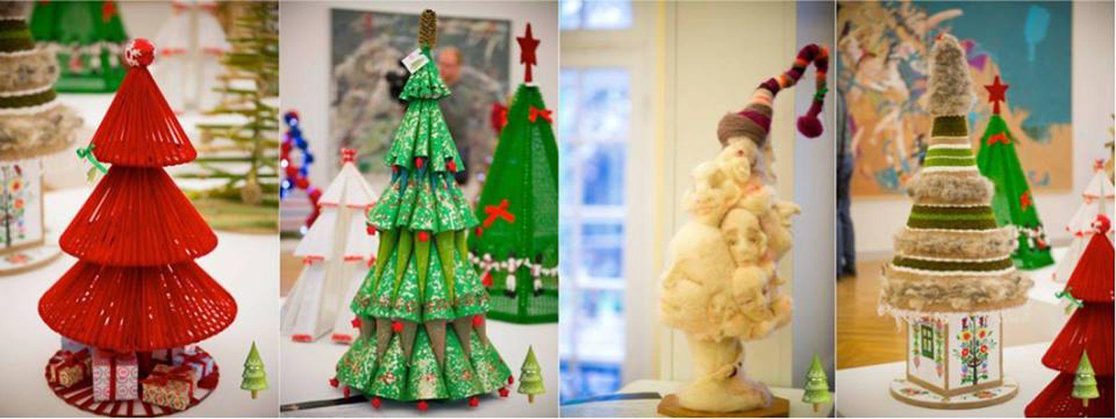 Выставка авторских ёлок Designer Christmas
