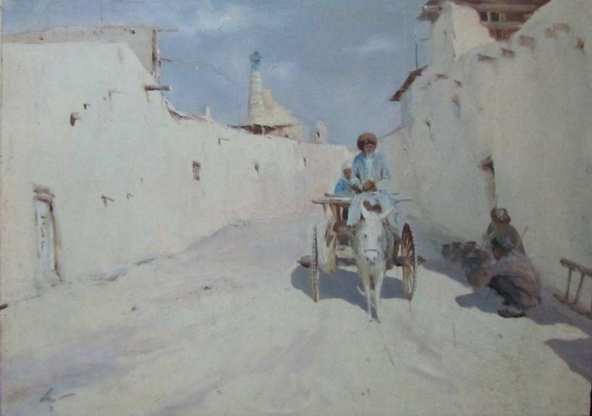 Выставка живописи и графики художников галереи «Жемчужина Востока»