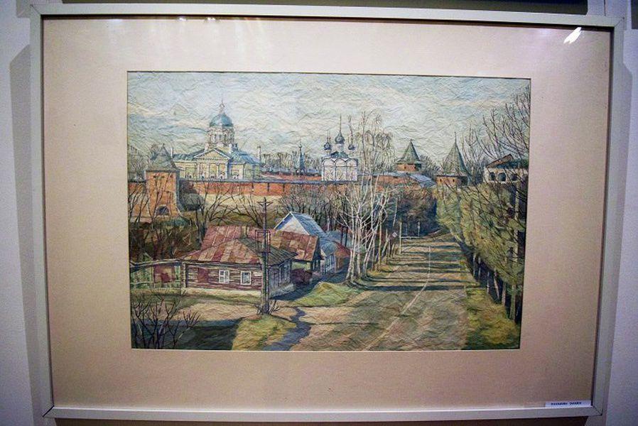 Осенняя выставка живописи московских архитекторов