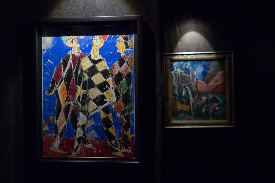 Выставка «Моисей Фейгин. И смеюсь, и плачу»