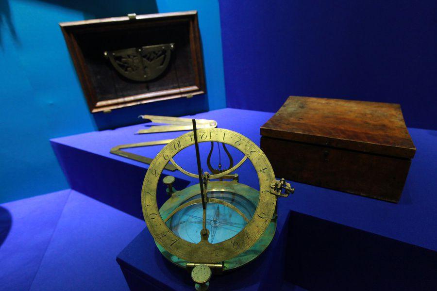 Выставка «Как царь Пётр море полюбил»