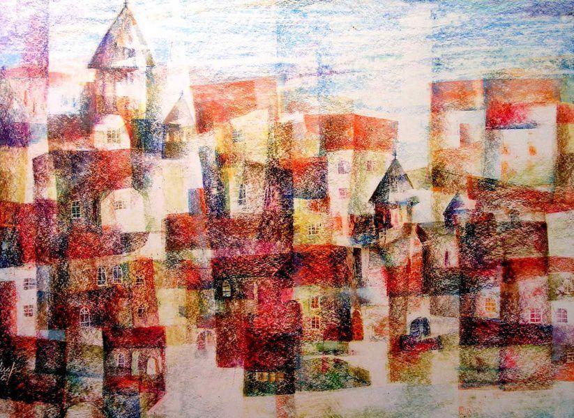 Выставка живописи и графики Петра Саруханова