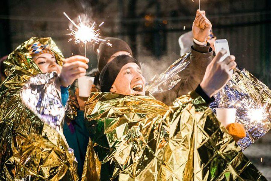 Кругосветный Новый год в Саду имени Баумана