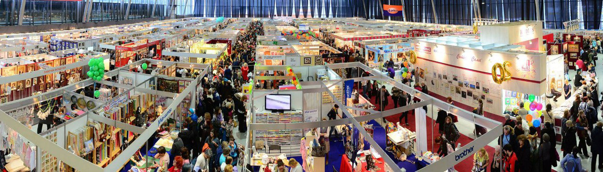 Выставка-продажа «Формула Рукоделия Москва. Весна 2017» в Сокольниках