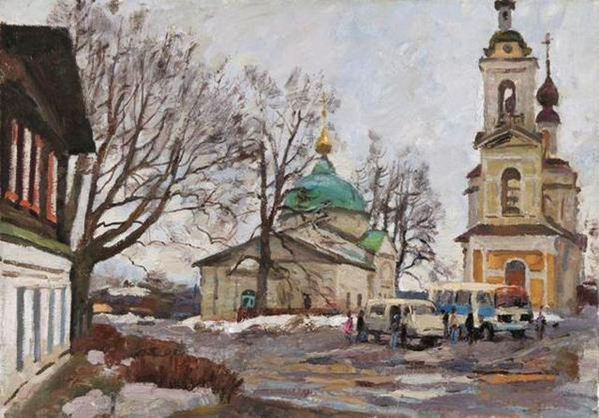 Выставка живописи Николая Соломина