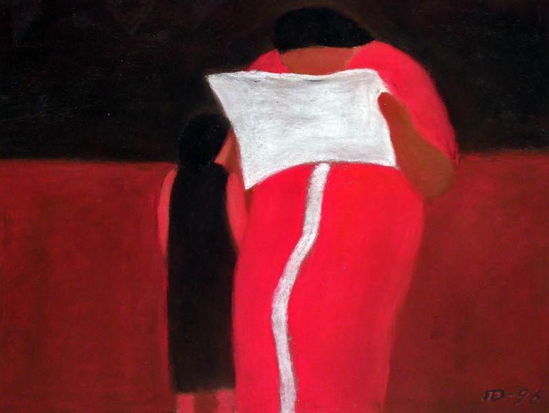 Выставка живописи Петра Дика