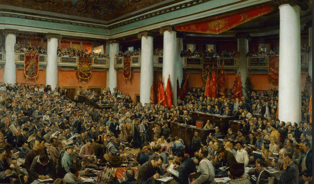 Выставка «Строители нового мира. Коминтерн. 1918–1924»