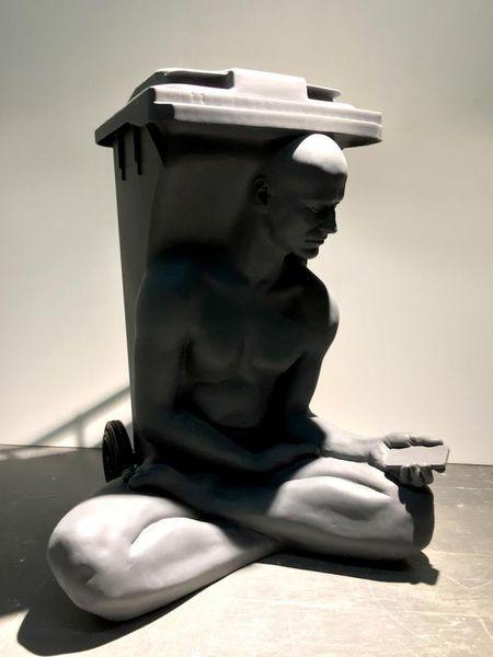 Выставка-интервенция Homo Virtualis