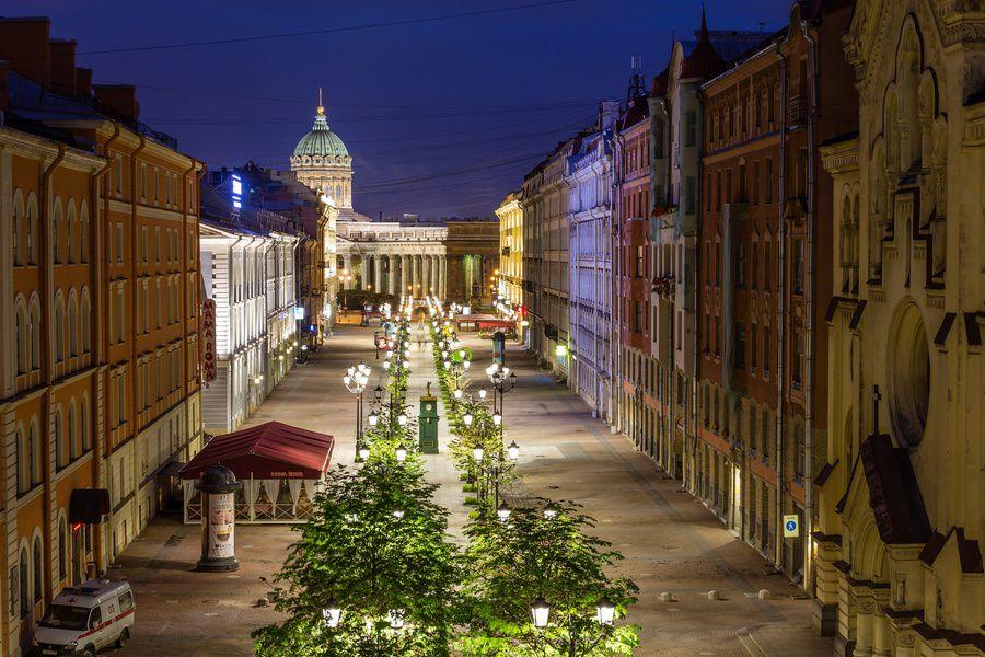 ВПетербурге возникла  карта вечерних маршрутов