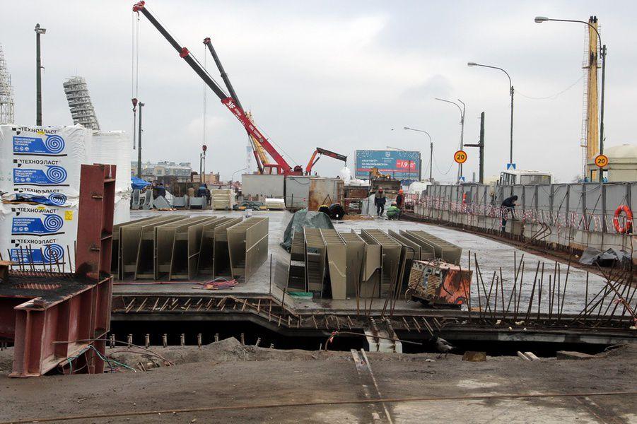 Тучков мост вПетербурге на100% перекроют на некоторое количество дней